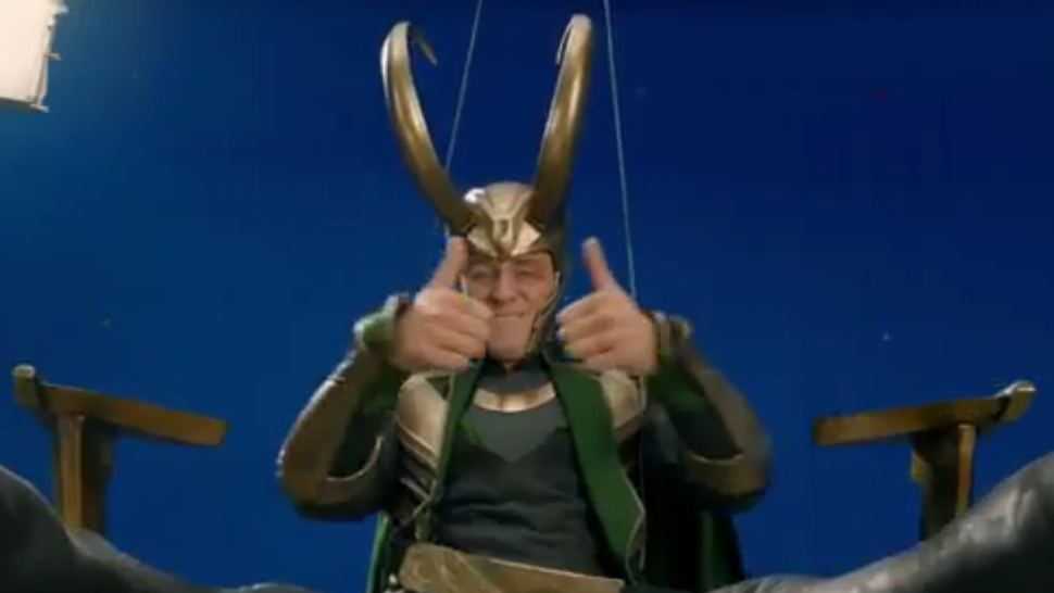 <em>The Avengers</em> gag reel assembles a lot of laughs