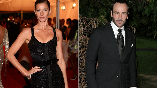 Tom Ford Warns Gisele to Start Worrying Now About Losing Her Looks