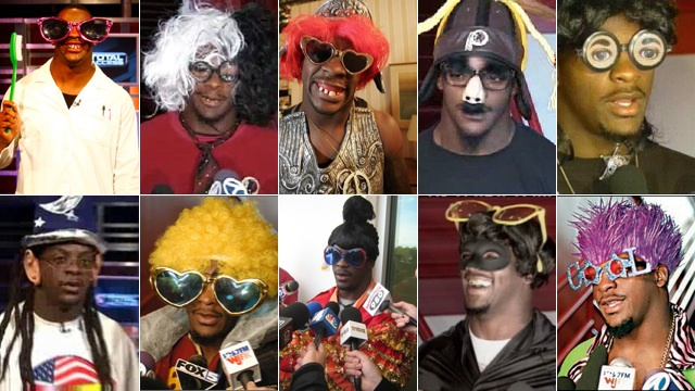 Clinton Portis characters