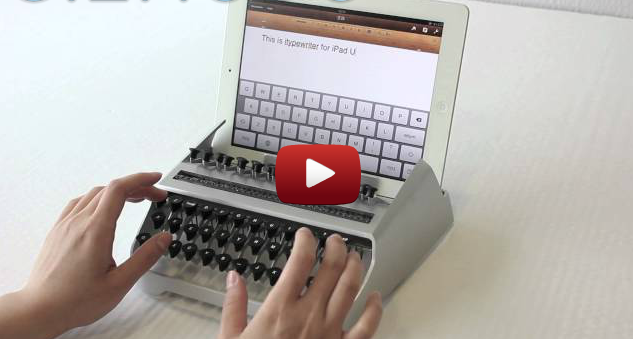 Click here to read This iPad Typewriter Is Loud and Banging Fun