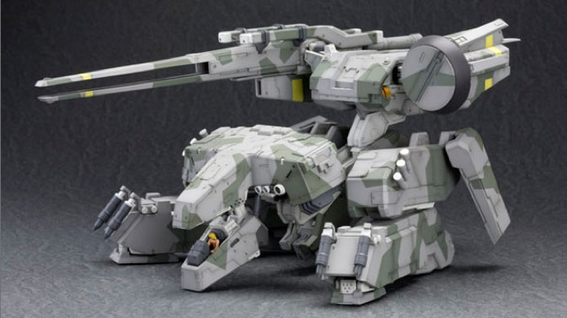 The Little People Make This Metal Gear Model Cool