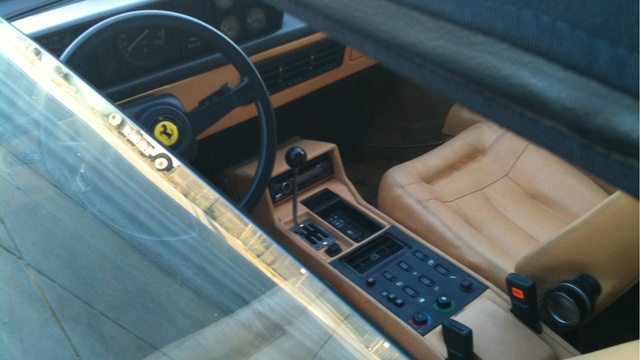 This Vintage Hipster Ferrari Is Too Cool For School