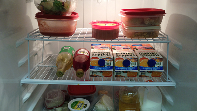 Add an Extra Shelf to Your Refrigerator for More Space, Less Mess