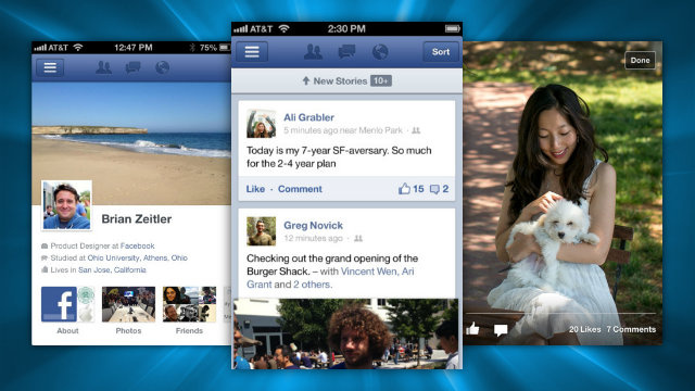 Facebook Has a New iPhone App, and It's Twice as Fast as the Old One