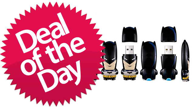 These Batman Mimobot Flash Drives Are The USB-Drives-Gotham-Needs-Them-To-Be Deal of the Day [Dealzmodo]