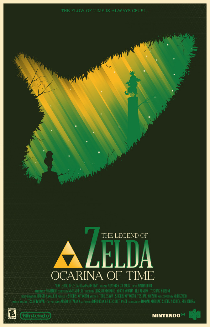 i really wish these zelda and ico movie posters were real kotaku australia