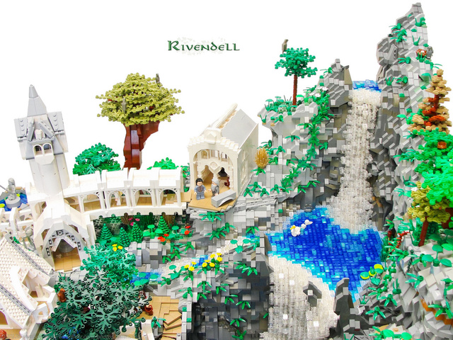 This Lord of the Rings Rivendell Might be the Best LEGO Set I've Ever Seen