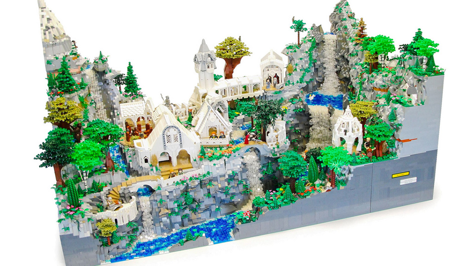 This Lord Of The Rings Rivendell Might Be The Best Lego Set Ive