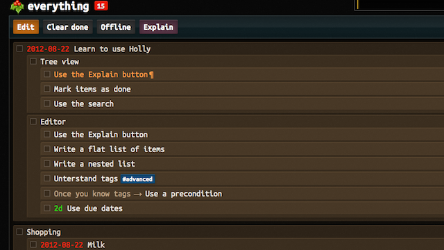 Click here to read Holly Is a Web-Based To-Do Manager for People Who Love the Command Line