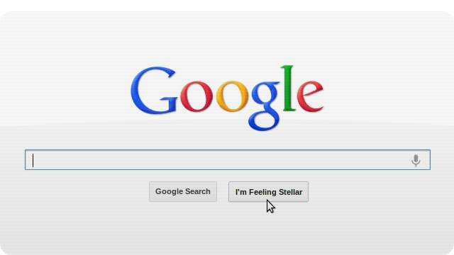 "Go Check Out Google's New ""I'm Feeling Lucky"" Button"