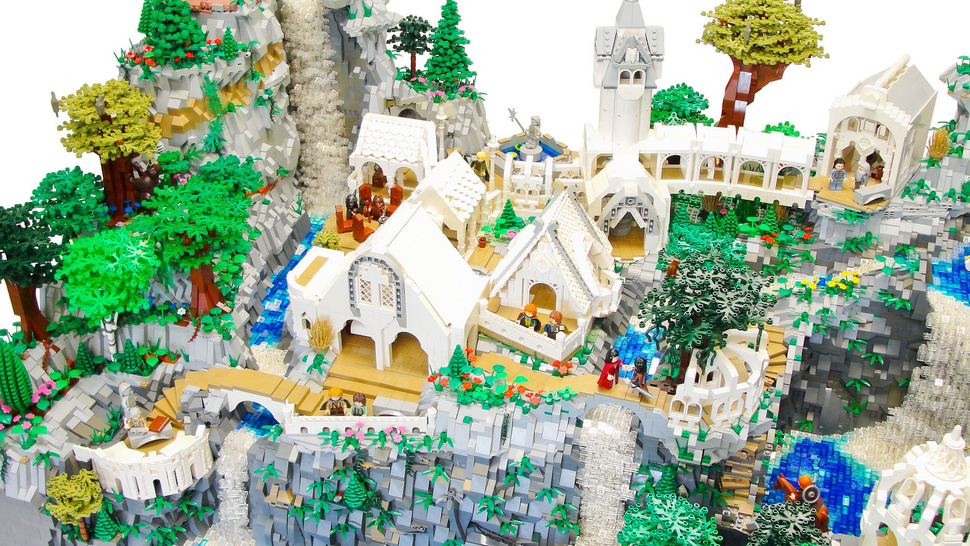 This Awesome 50,000-Piece Lego Rivendell Was Made by a Kid