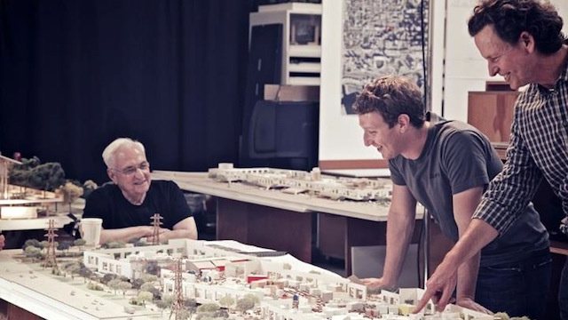 Frank Gehry Is Designing Facebook's New Office Building and That's Sad