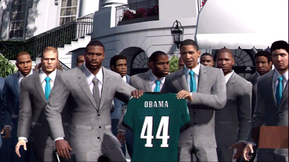 President Obama Isn't In <em>Madden</em>'s Championship Scene—But He's Still On For <em>NBA 2K13</em>