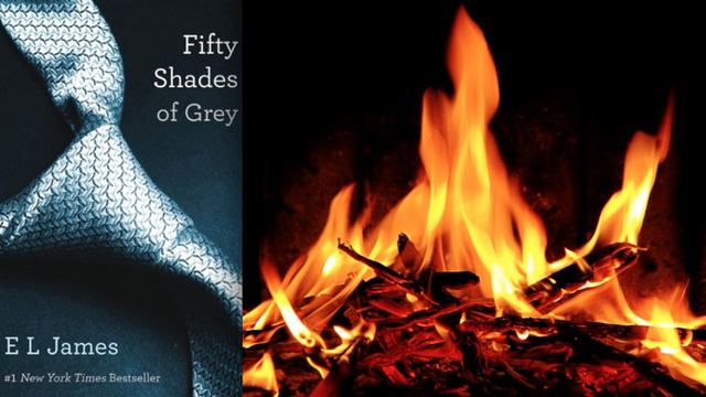 U.K. Domestic Abuse Charity Conducting Mass Burning Of 50 Shades of Grey