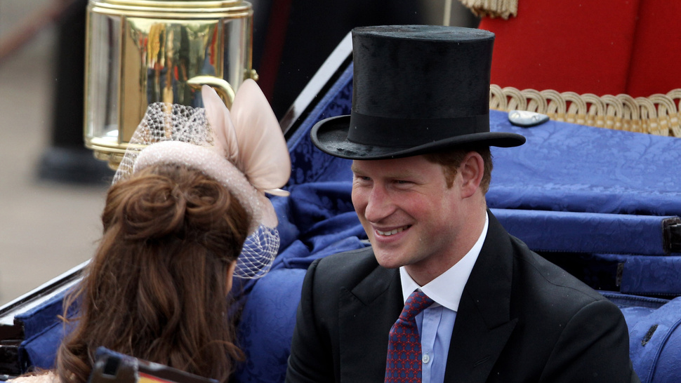 Prince Harry Is Very, Very Sorry for Letting Everyone See His Prince Hairy