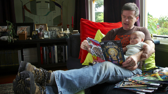 Comic book writer sells off comics collection to pay for his baby son's adoption and medical bills