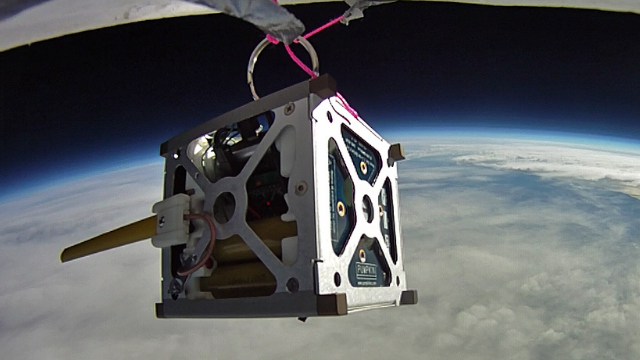 Click here to read NASA's Tiny Cubic Satellites Will Have Android Phones for Brains