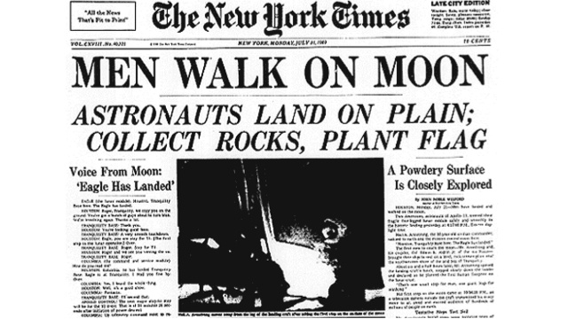 article on the moon landing - photo #3