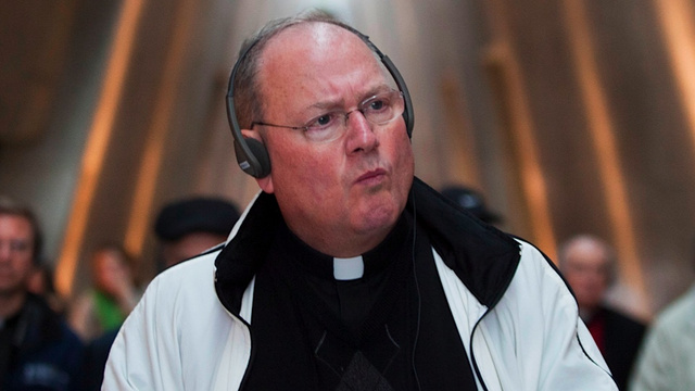 James Carville's Daughter Has a Great Plan for Showing-Up Cardinal Timothy Dolan