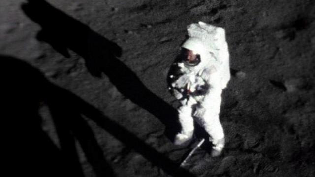 Click here to read The Only Photo of Neil Armstrong On the Moon