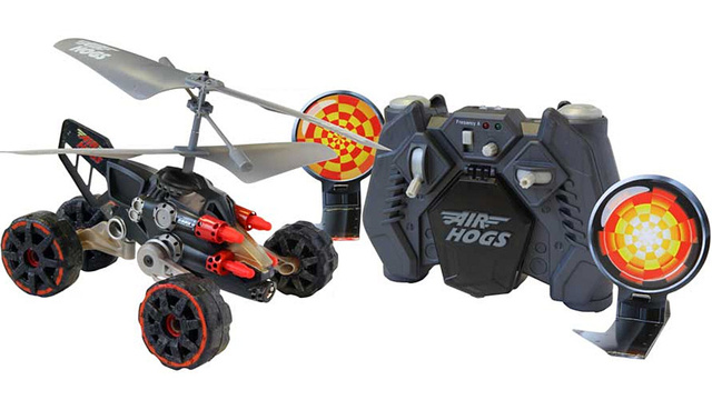 Missile-Launching Flying RC Car Leads Assaults By Land and Air