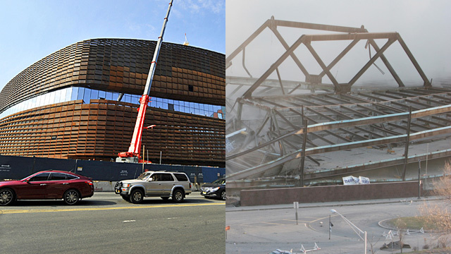 Yes, The New Brooklyn Nets Arena Is Deliberately Covered With Rust. No, It's Not A Good Idea.