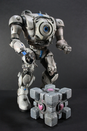Giving Portal's Wheatley a Giant Robot Body