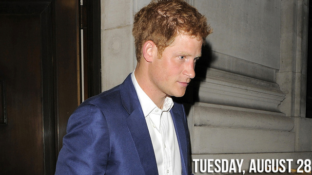 Prince Harry's Royal Peen Caught on Video!