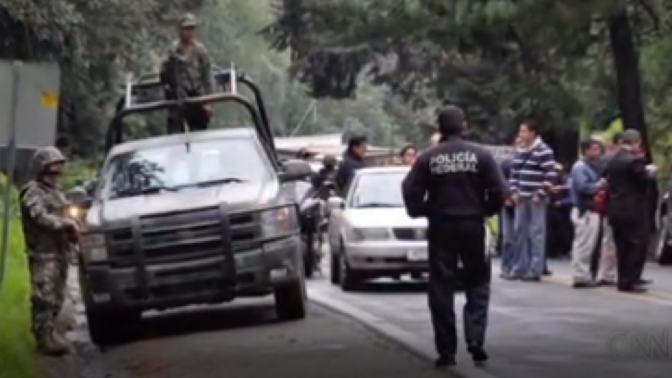 Click here to read 12 Mexican Police Officers Were Arrested For Shooting At A US Embassy Truck