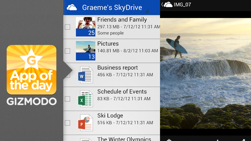 Click here to read SkyDrive for Android: Squirrel Your Stuff Away on Your Phone