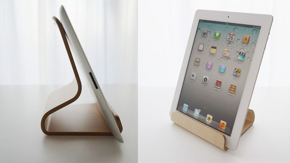 It May Be Called the 'Desktop Chair,' but This iPad Stand Would Look Great in a Kitchen