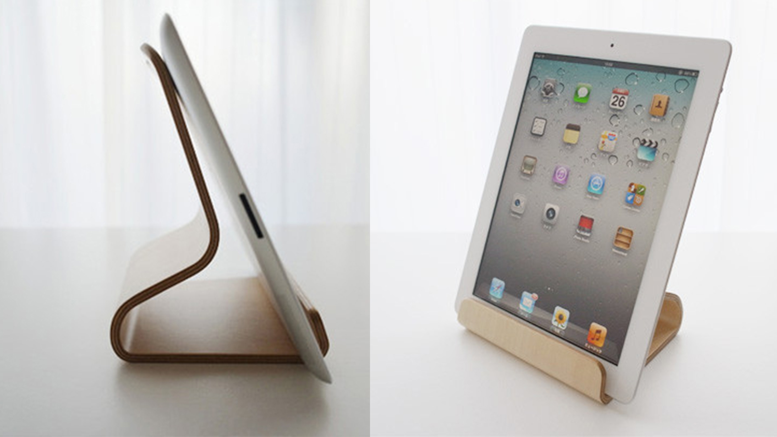 Click here to read It May Be Called the 'Desktop Chair,' but This iPad Stand Would Look Great in a Kitchen
