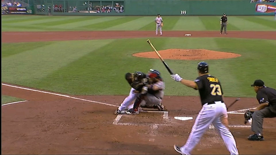"Yadier Molina Held Onto This Ball Like ""A Man,"" Accor…"