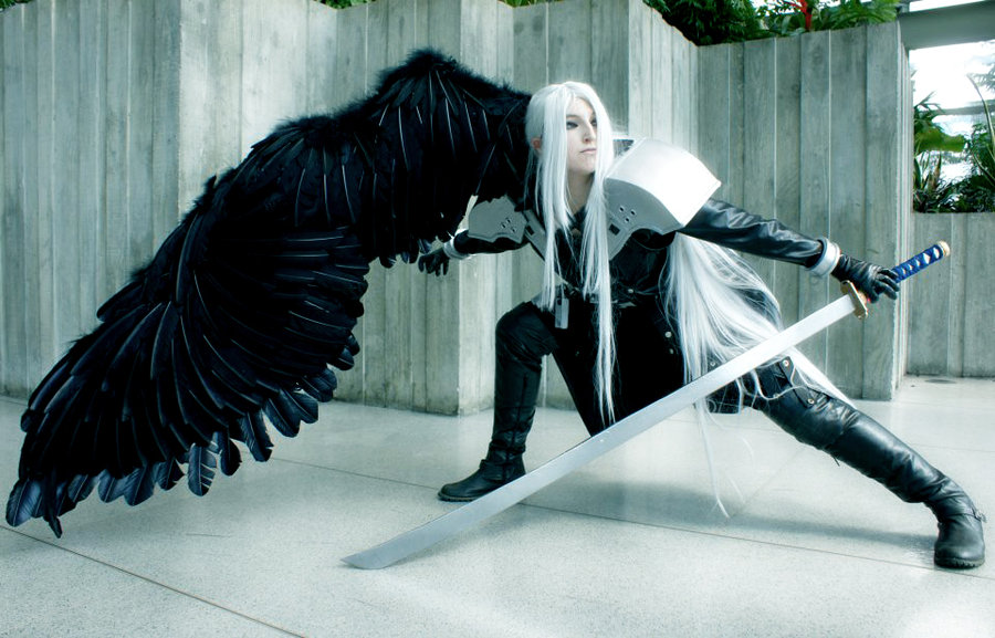 Sephiroth Wing On Your Knees, I Want ...