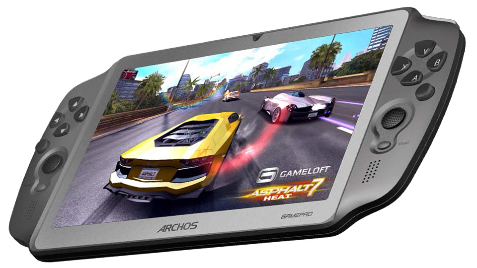 Archos GamePad For Android Gamers Tired Of Playing On Touchscreens
