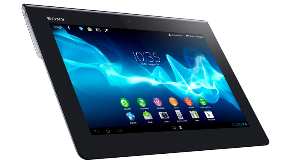 Click here to read Sony Xperia Tablet S Hands-On: Still Weird. A Little Better. Let's Hope Somebody Buys It This Time.