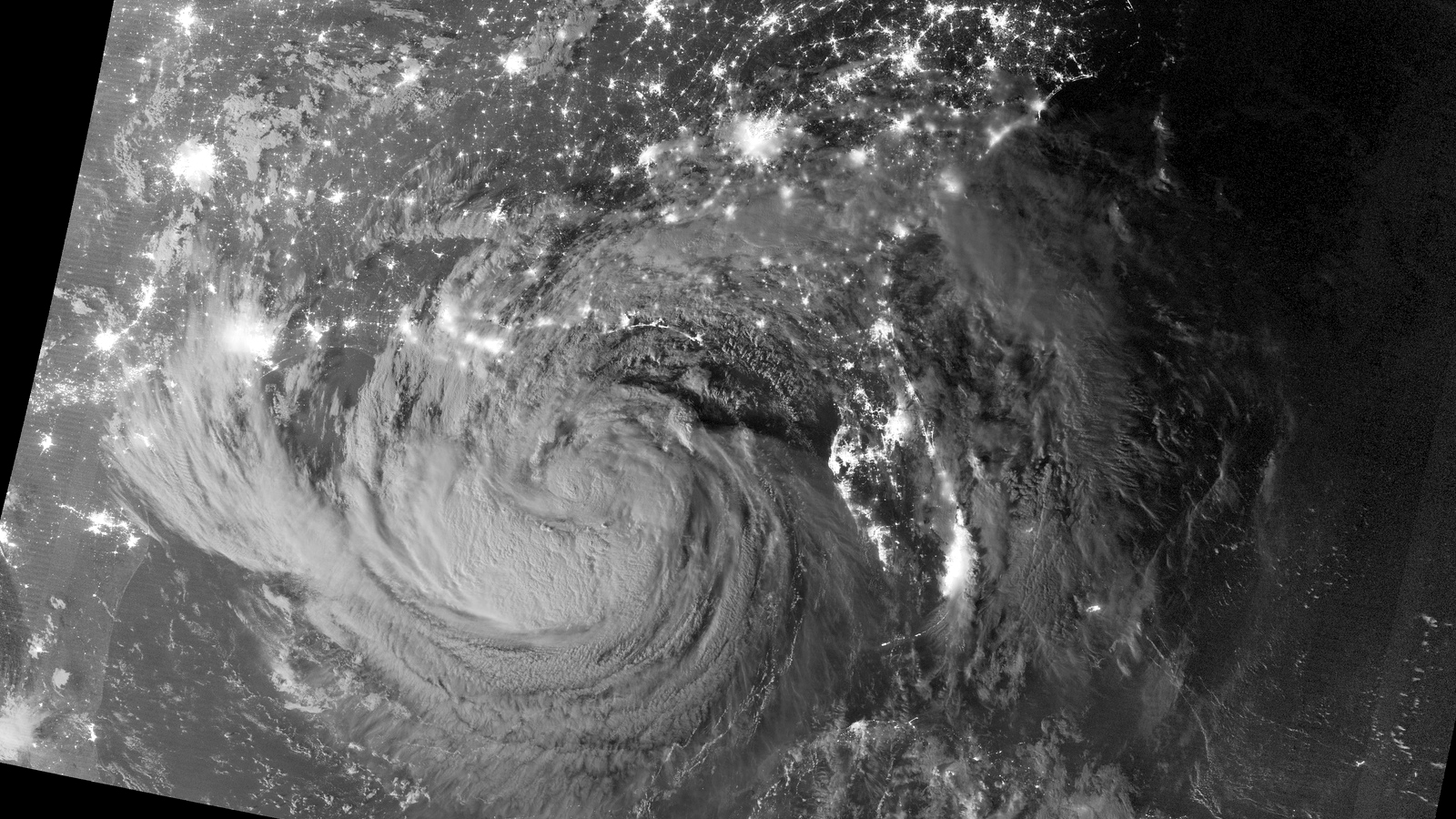 Click here to read Amazing Image of Hurricane Isaac at Midnight