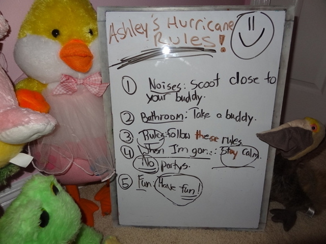 Click here to read Stuffed Animals Get Adorable Hurricane Safety Instructions from Little Girl Forced to Leave Them Behind