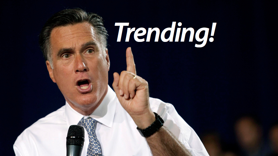 Click here to read Romney 2012 Becomes First Political Campaign to Buy a Twitter Trending Topic