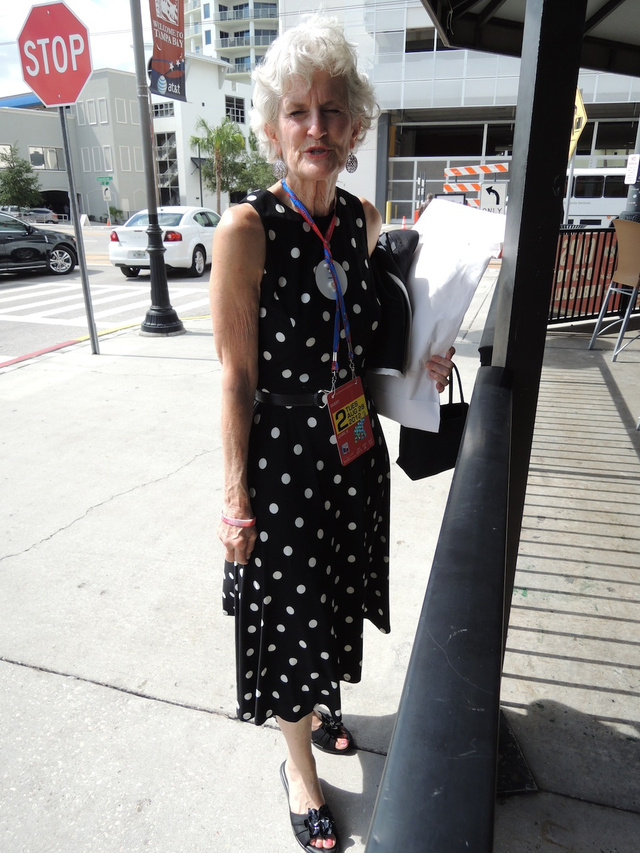 When Talking About Shoes Is All You Can Do to Keep From Shoving One Another: RNC Street Style