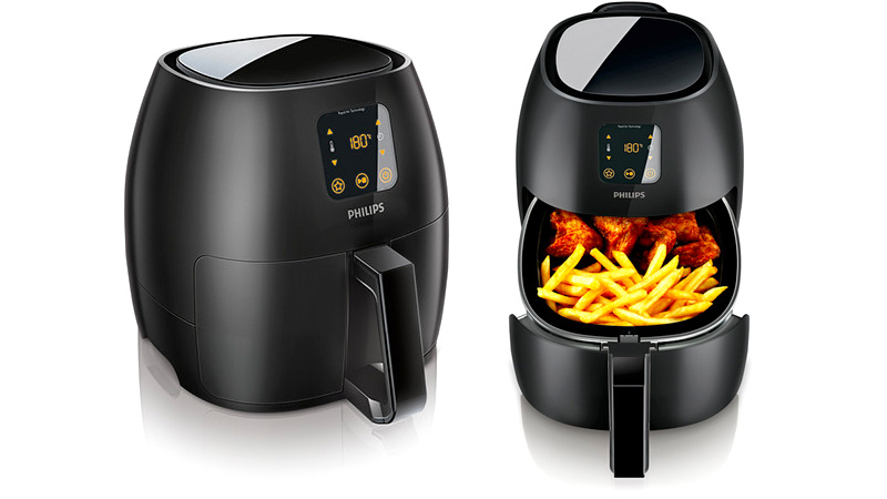 Philips new airfryer xl serves up even more low fat air fried snacks
