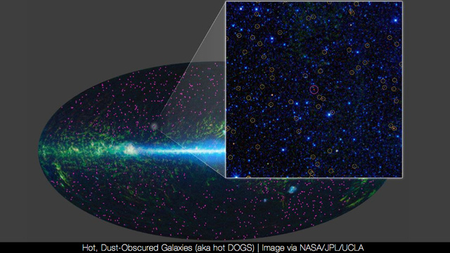 NASA discovers millions of supermassive black holes