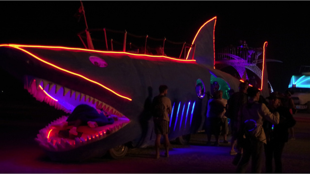 Disco Fish and Snails on Wheels: The Amazing Vehicles of Burning Man 2012