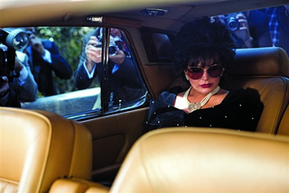 Lindsay Lohan Is Lindsay Lohan Dressed Up Like Liz Taylor in Three Hilarious New Promo Images from Liz & Dick