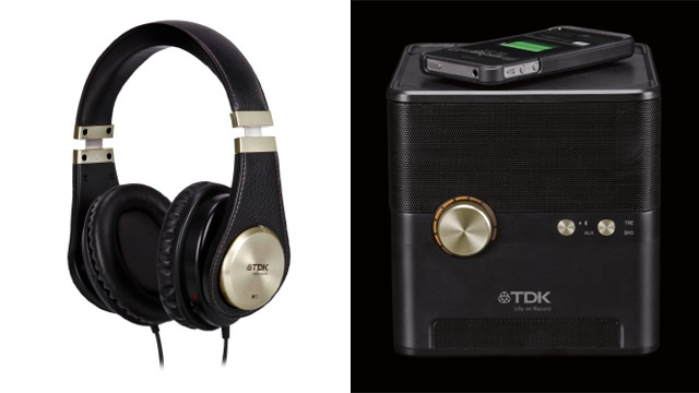 I Want TDK's Gorgeous New Headphones and Speaker Cube That Can Charge Your Phone Wirelessly