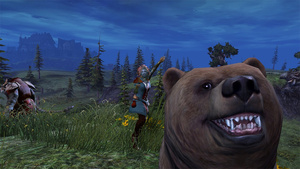 Guild Wars 2 Bear Loves to Photobomb