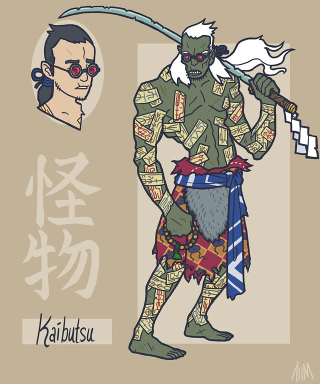 What if the Avengers and the Justice League starred in samurai movies?