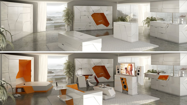 An Entire House Full of Transforming Furniture Would Be Amazing (Even if It Means It Will Destroy Your Life)