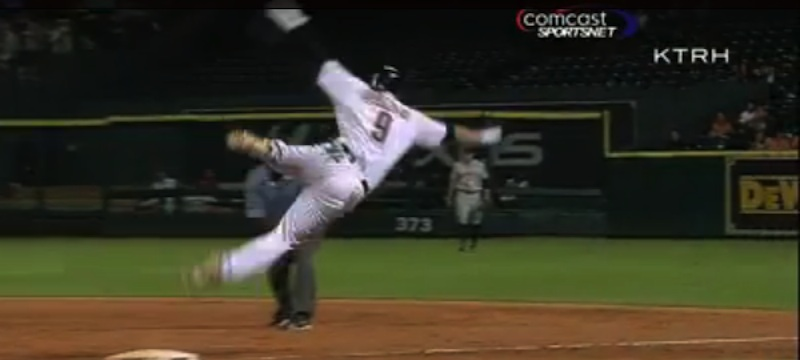 Astros Player Suffers The Most Astros Injury Ever
