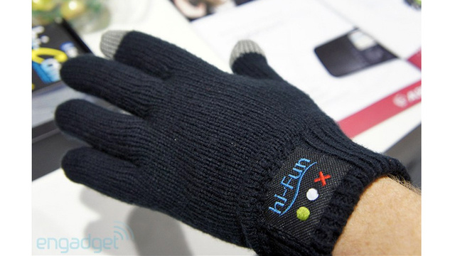Bluetooth Gloves: Because Even Talking Into Your Hand Looks Less Stupid Than an Earpiece